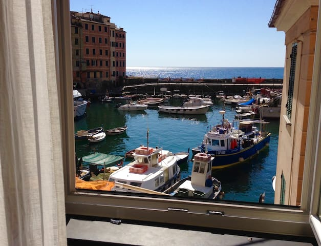 Lovely apartment at the port - Camogli - Appartement