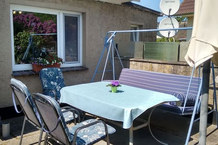 Comfy Bungalow in Fuhlendorf with Terrace, Barbecue, Garden