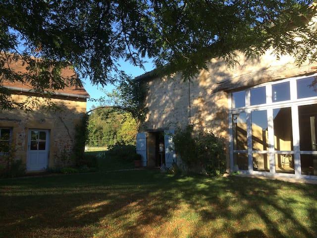 Maison de charme au  coeur de la nature. - Saint-Martin-du-Lac