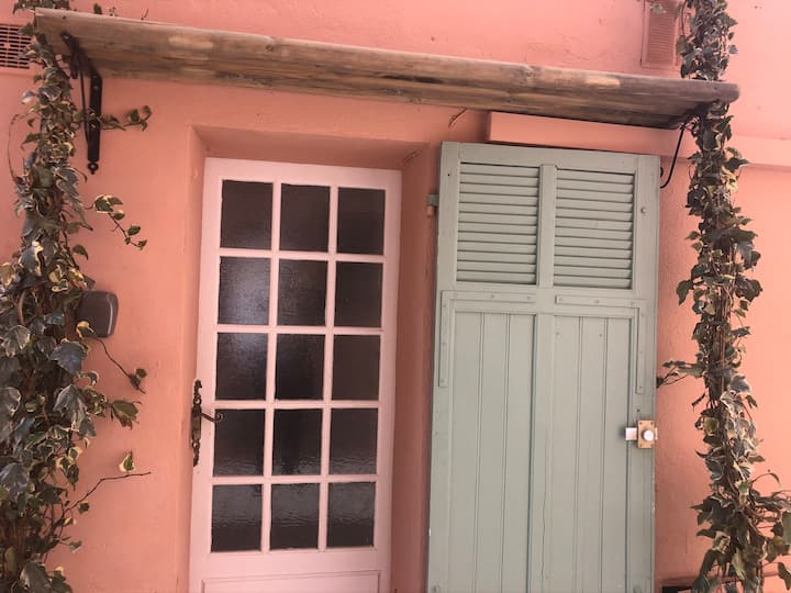 Studio vieille ville St Tropez Petit extérieur