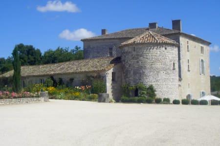 Vie de Château avec piscine en Quercy - Saint-Laurent-Lolmie - Slot