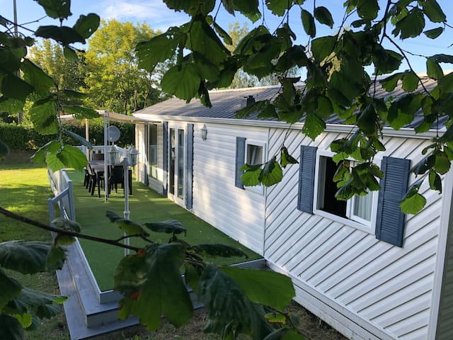MobilHome Confortable Camping 3* Domaine du Launay