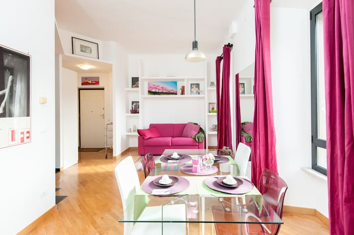 Apartment LoL luminoso a Trastevere