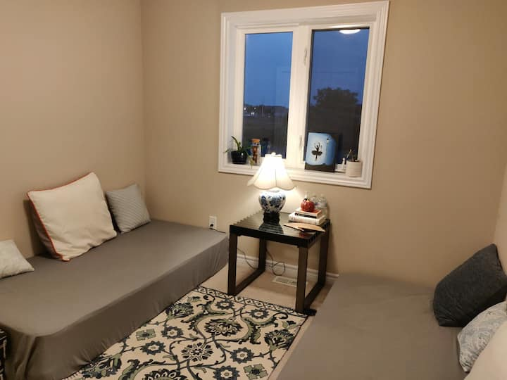 Super Clean and well maintained private room