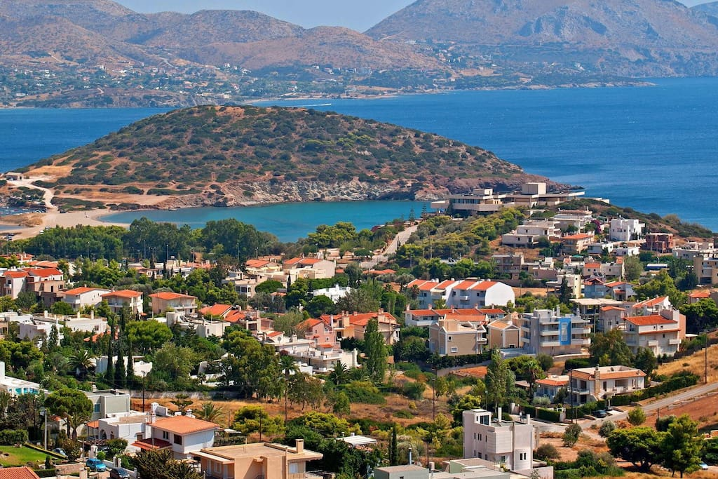 Agios Nicolaos, Anavyssos. One of the most exclusive parts of the Athenian Riviera