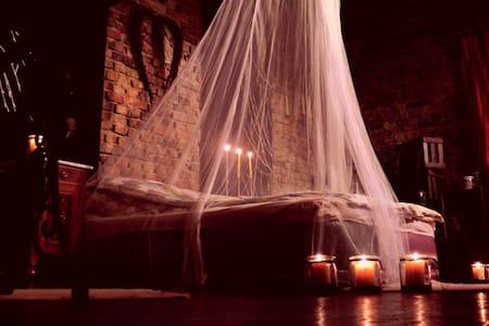 Romantisches Scheunenbett - Biblis - Loft