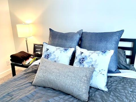 Cozy Bedroom in Suburban Cottage