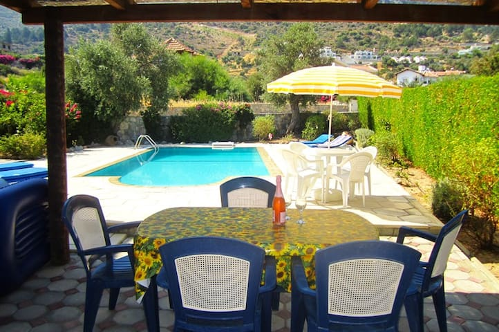 KB415 3 BR Villa In North Cyprus - Lefkoşa - วิลล่า