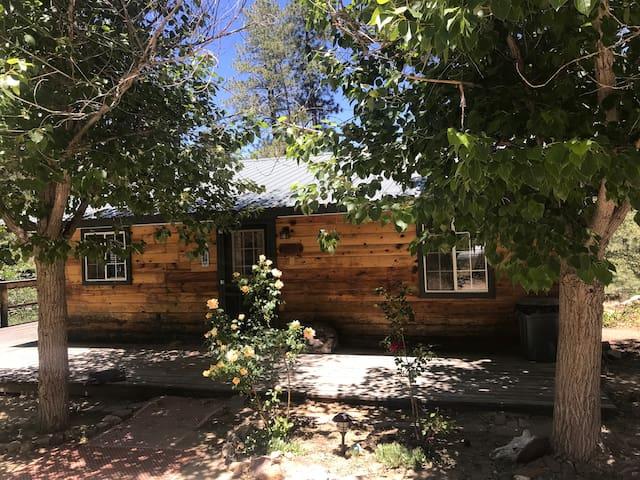 Crown King Cozy Cabins - Vernon Martin Main Cabin