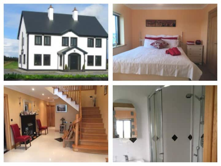 The Gleams 1 - 6km from M6. Exit Jct 19 Oranmore