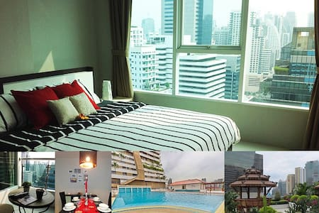 Center Pool Topview 30floor BTS MRT