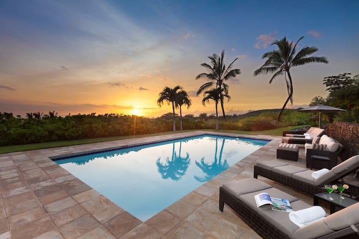 Tropical Elegance, Privacy and Pool - Waimea - Casa