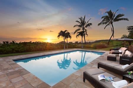 Tropical Elegance, Privacy and Pool - Waimea