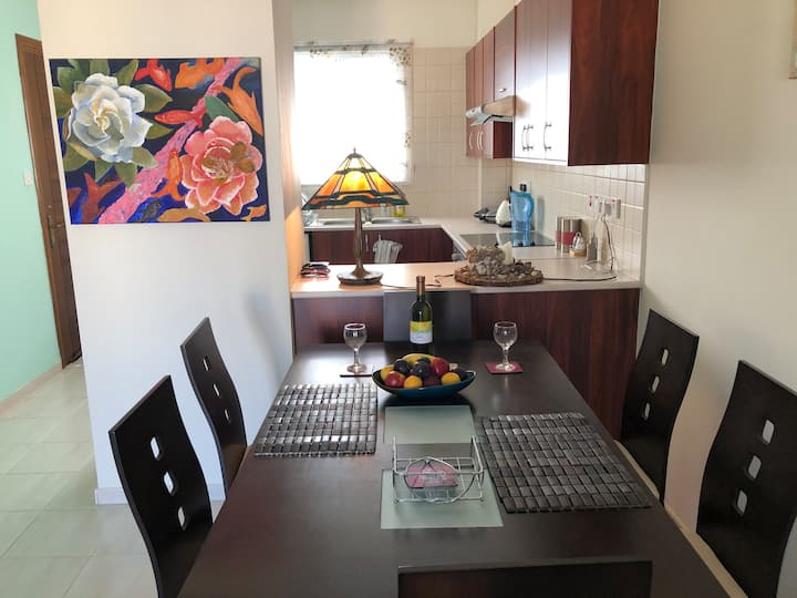 Cozy two bedroom apartment in Mandria, Paphos