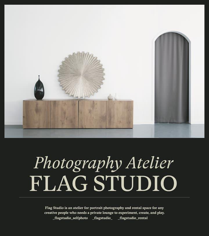 [플래그스튜디오] 전문 사진 세트장을 대관하여 프라이빗한 이벤트, 파티, 공연을 계획하세요