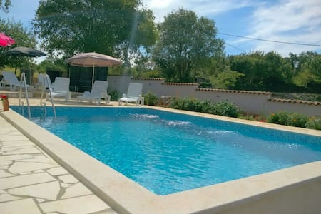 Green paradise in Istria with big pool and garden! - Režanci - House