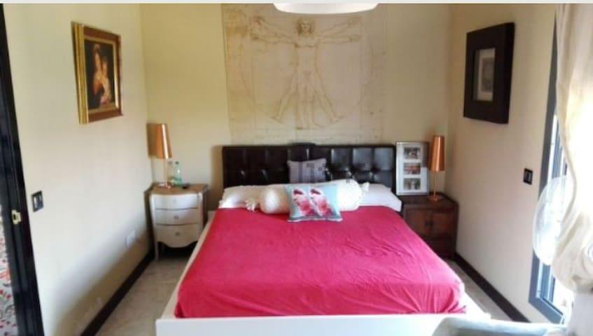 Habitación suite vacacional en el Aljarafe - Bormujos - Huis