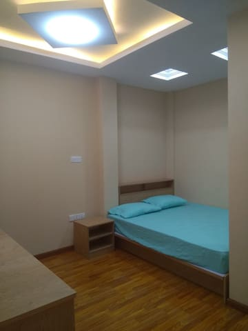 Master Bedroom with bathroom in Downtown Yangon