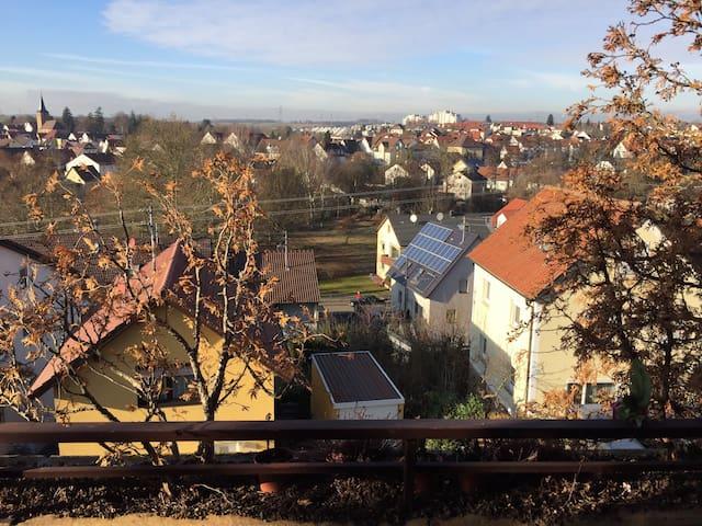 Neu renovierte Penthouse Wohnung - Heilbronn - Appartement