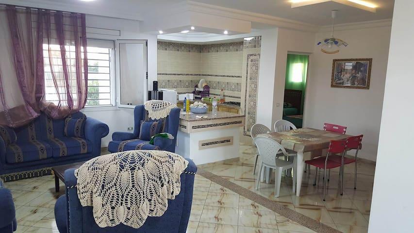 Charmante maison sur la plage Dar Allouche