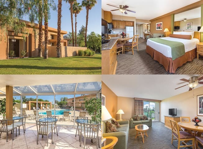 1 Bedroom Wyndham Palm Springs - Plaza Resort - Palm Springs - Apartment