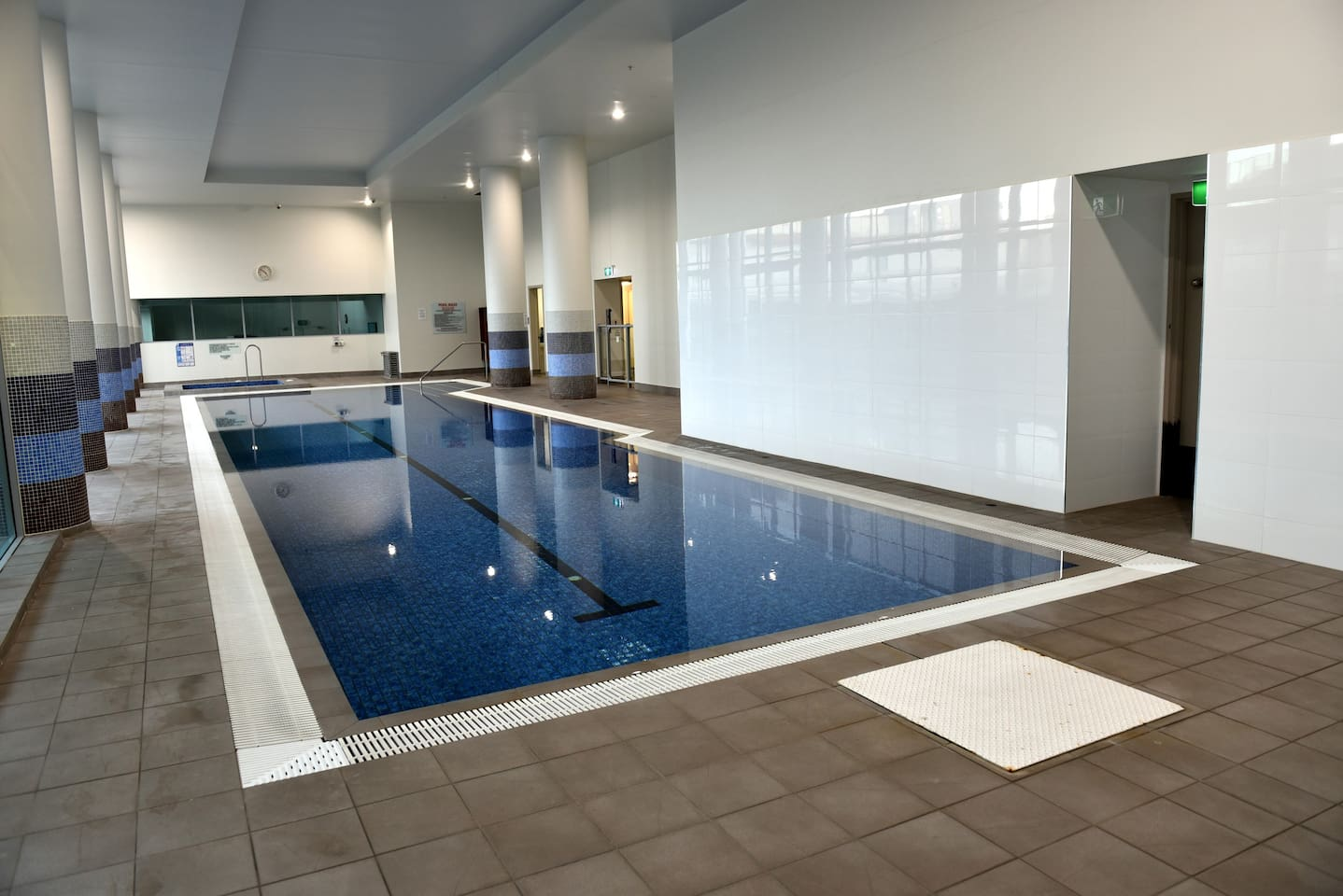 Lovely Indoor 25 M heated pool