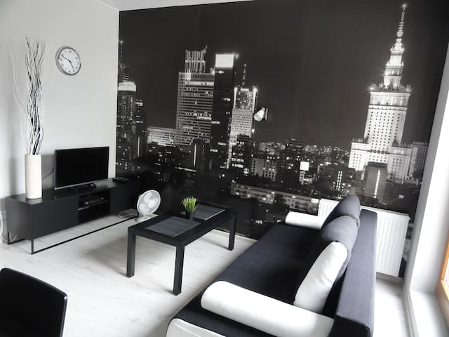 Modern apartment next to EXPO and Warsaw West St.! - Warszawa - Apartamento