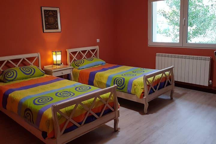 Habitación en sierra de Madrid (collado Mediano)