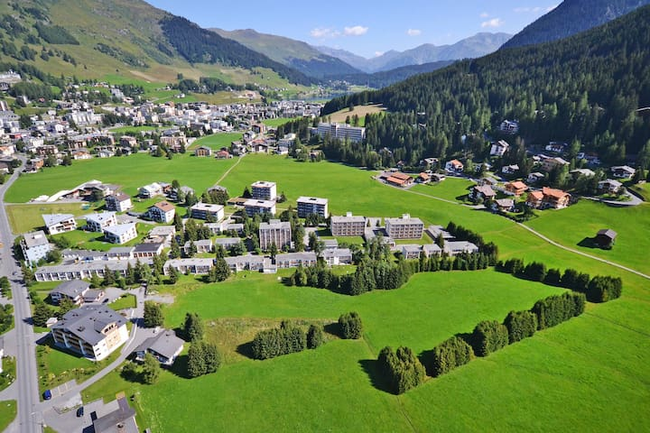 Solaria Serviced Apartments - Davos - Huoneisto