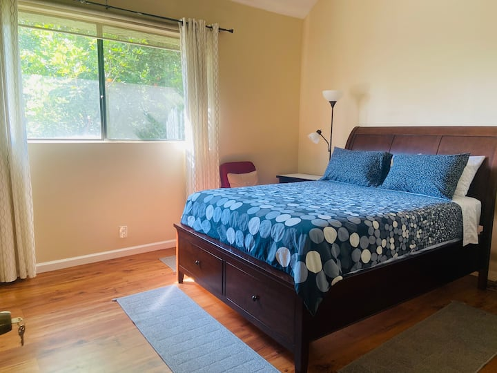 Spacious Master Bedroom in a Beautiful Townhouse
