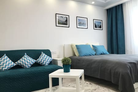 New, comfortable apartment at the city center
