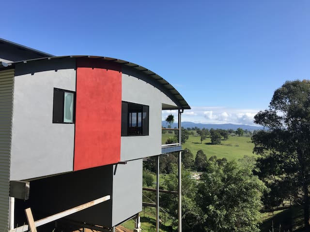 Side View of Home and private Verandah