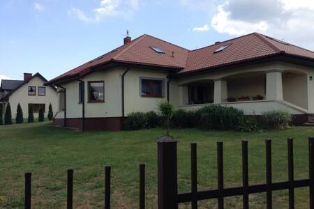 Wakacyjny  dom w Janowcu