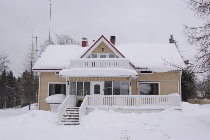 Big (150m²) and cozy cottage with sauna - Kuusamo - Dům