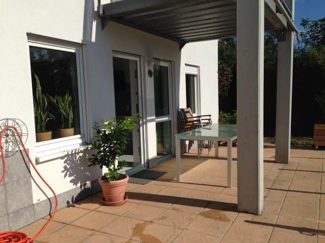 Gemütliche Wohnung mit Aussicht - Rheinfelden (Baden) - Appartamento