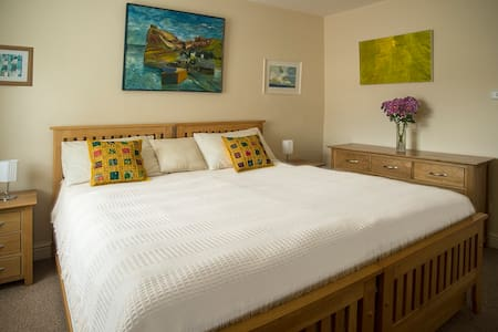Quiet, Comfortable Room, Twin Beds or Super King - Penzance, Gulval