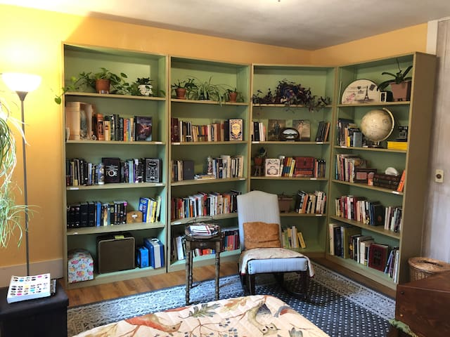 A BOOK LOVER'S RETREAT/ Downtown Eugene