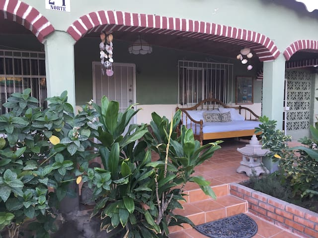 Mulege Village Garden House: Secure Gated Property