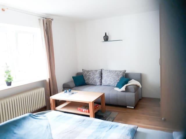 Ferienwohnung Fürst, (Moos), Apartment mit Gartenblick, 37qm, 1 Wohn-/Schlafzimmer, max. 3 Personen