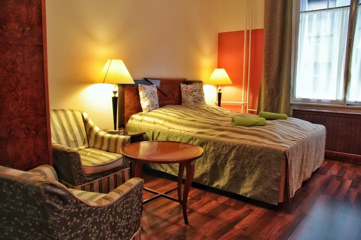 Evergreen Budapest Guest House - Double or Twin room