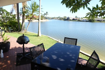 A large unit overlooking a canal. - Mooloolaba - 公寓
