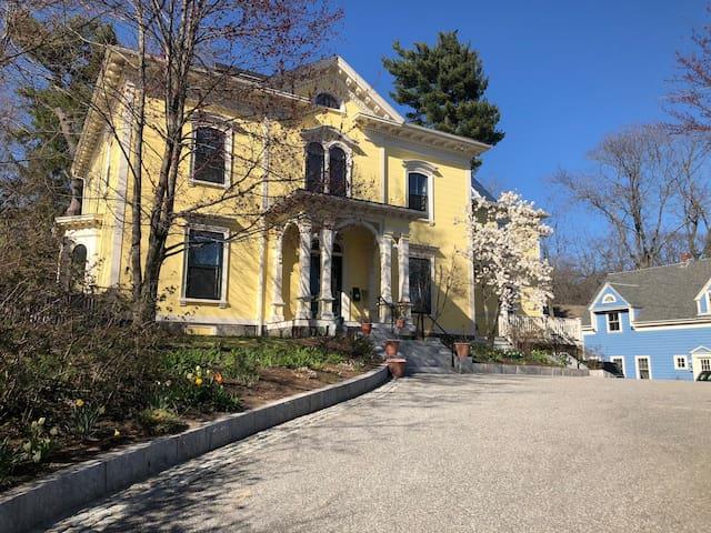 Big Yellow House - exterior