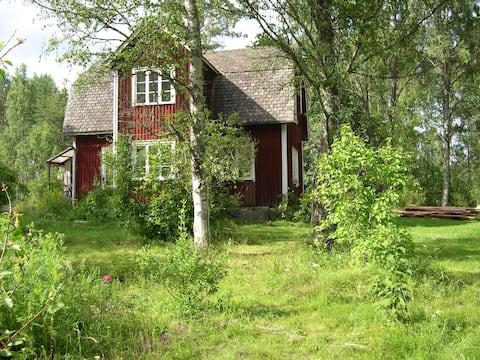 Idylliczny dom na szwedzkiej wsi