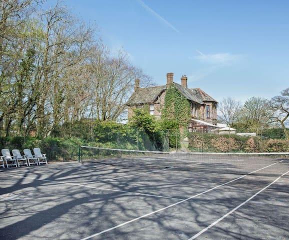 Ratherton House, luxury 7 bedroom country property