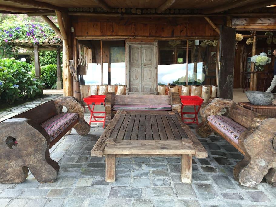 partial terrace view