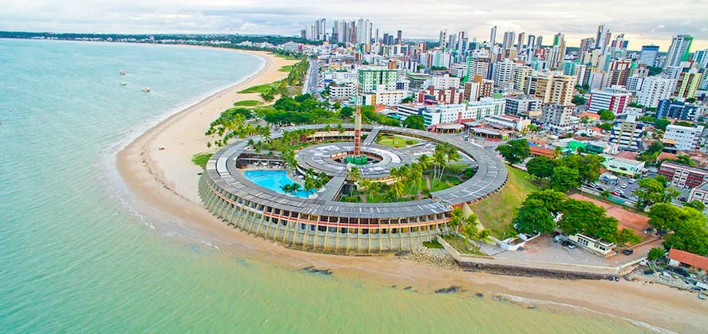 Apt in Condo, by the sea in Formosa Beach - João Pessoa - Apartament
