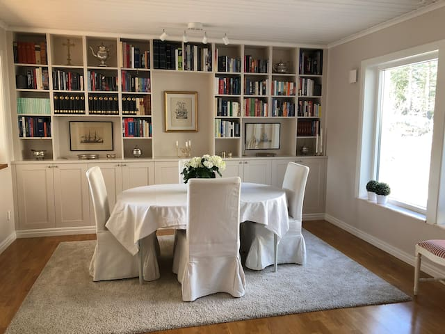 Newly renovated house 5 min from Ingarö Golf Club