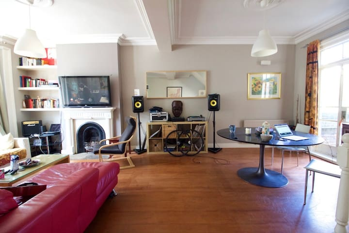 Large room in a delightful London home