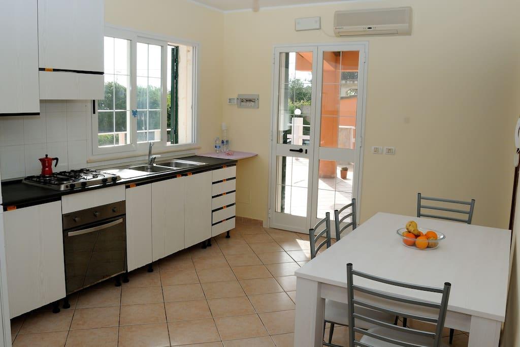 Villa Maria - cucina - piano terra