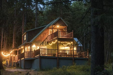 Beautiful 3BR/2Bath Ponderosa Cabin - Leavenworth - Cabin